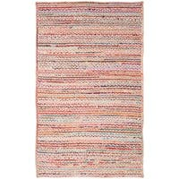 Safavieh Handmade Cape Cod Nautical & Coastal Geometric - Natural / Multi Jute Rug - 8' x 10'