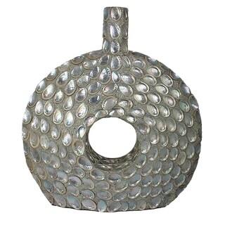 Essential Decor & Beyond Seashell Encrust Floor Vase EN30611