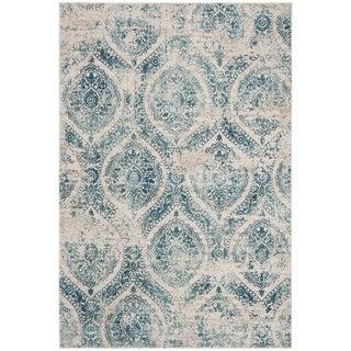 Safavieh Princeton Vintage Oriental - Blue / Beige Polyester Rug - 8' X 10'
