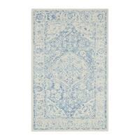 "Colorfields Prana Blue Tufted Rectangle Rug - 8'6"" x 12'"