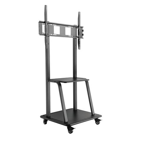 Fuji Labs Ultra-Heavy Duty Steel Mobile TV Cart For 37~100""