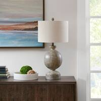 "Madison Park Curren Grey Table Lamp - 15""l x 15""w x 29""h"