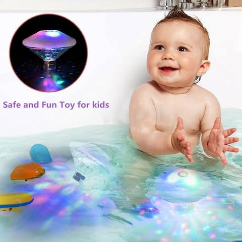 Waterproof LED Bathtub Pond Light Underwater for Party Baby