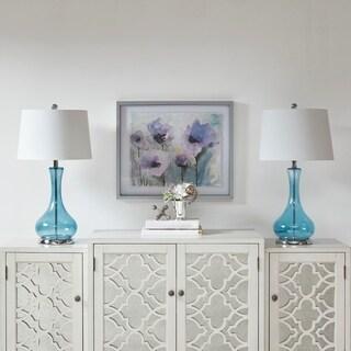 "510 Design Barbet Blue Table Lamp (Set of 2) - 15""l x 15""d x 27.5""h"