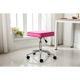 Porthos Home Keon Height Adjustable Office Chair - Suede Leather
