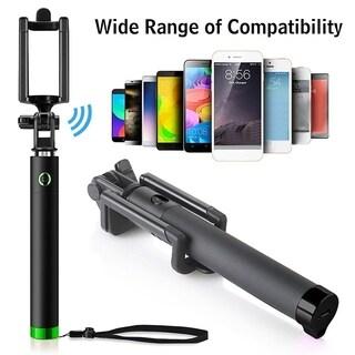 Foldable USB Bluetooth Selfie Stick Portable Lightweight Selfie Stick for iPhone XS