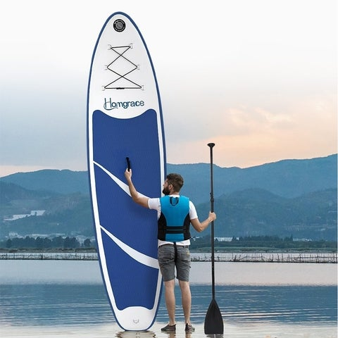 Inflatable SUP Stand Up Paddle Board Outdoor Paddle Pump Kit