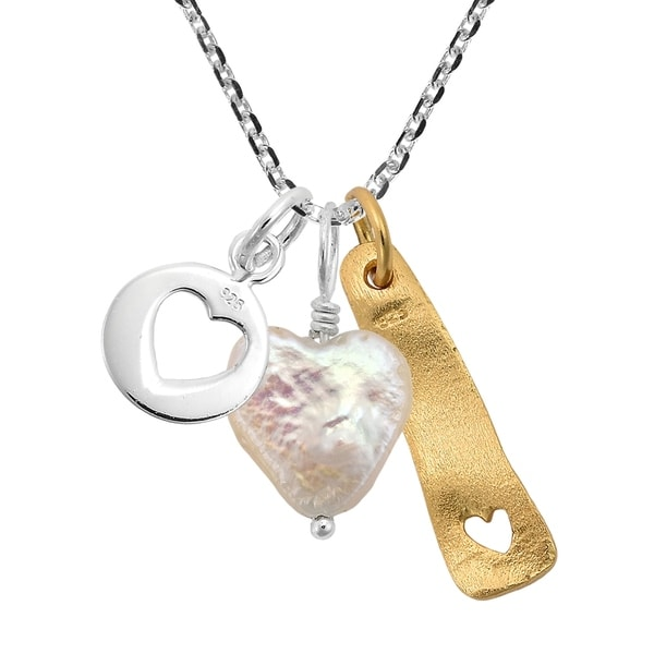 TAG WITH CUTOUT HEART 9 MM 1 SMALL STERLING SILVER 925 ROUND CHARM PENDANT