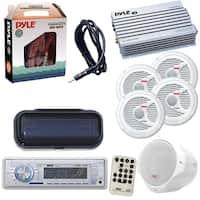 Pyle Marine Audio In-Dash Receiver w/AM/FM/AUX/iPod/MP3 w/ Amp, Speakers etc