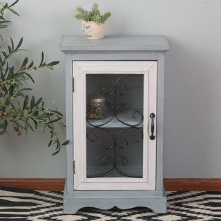 Grey Haven Grey Wood Small Cabinet