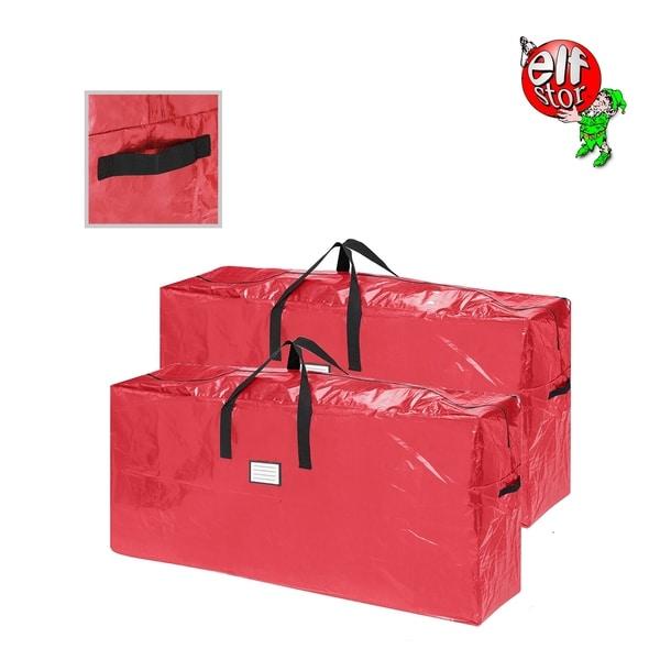 Elf Stor Christmas Tree Bag Extra 9' Tree 2-Pack