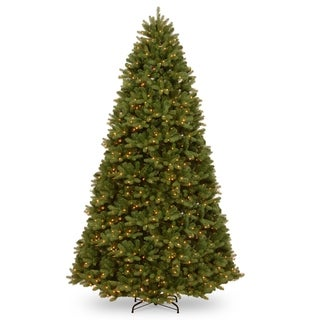 12 ft. PowerConnect(TM) Newberry® Spruce with Dual Color® LED Lights
