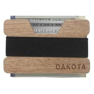 Dakota Genuine Hardwood Minimalist Wallet