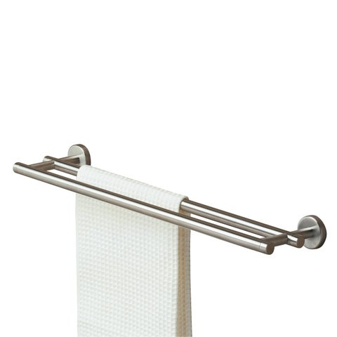 Tiger Towel Rack Double Boston Brushed Stainless Steel