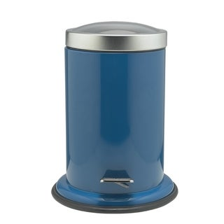 Sealskin Small Bathroom Step Trash Can Acero Blue