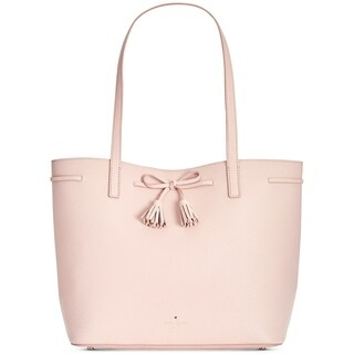 Kate Spade Hayes Street Nandy Leather Warm Vellum Tote