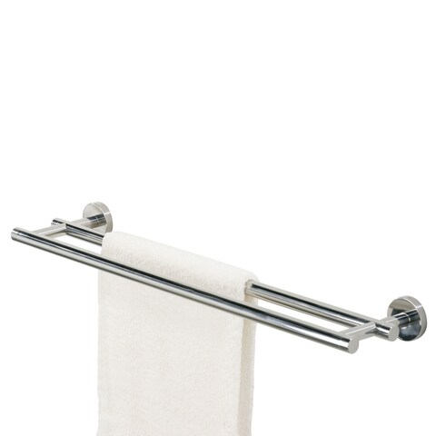 Tiger Towel Rack Double Boston Polished Stainless Steel