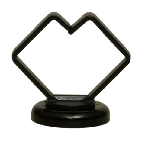 Offex 1 Inch Strong Polymer Black Magnetic Cable Holder, 15 lbs Pull Strength, UL Listed, 10 Pieces/Bag