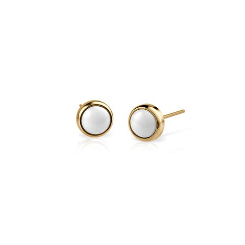BERING Stud Earring. In Stainless Steel With Scratch Resistant Ceramic - 701-25-05