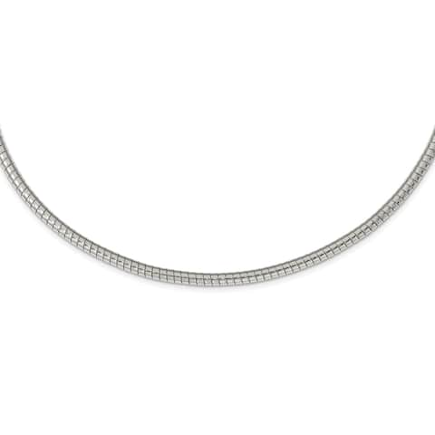 Chisel Stainless Steel Multi Chain Layered Necklace