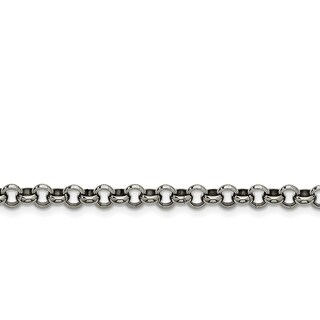 Stainless Steel 6mm Rolo Chain - china