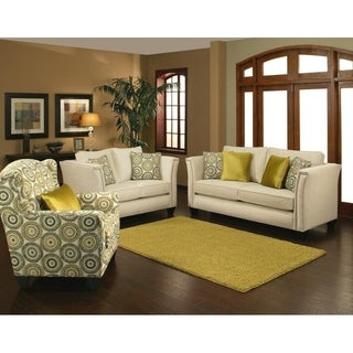 Brenda 2 Piece Sofa Set by Arely's Furniture Inc.