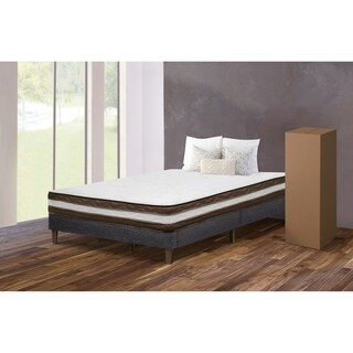 "Purest of America® Euro 2 Sided 8"" Twin Mattress"