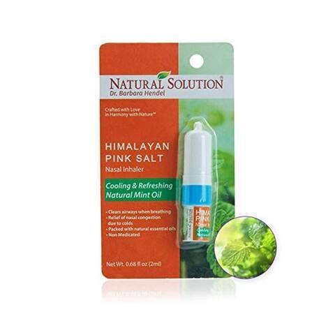 Natural Solution Himalayan Pink Salt Mint Inhaler