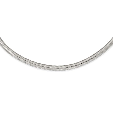 Chisel Stainless Steel Polished 8mm Necklace