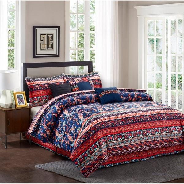 R2Zen™ Hannah 7-Piece Comforter Set