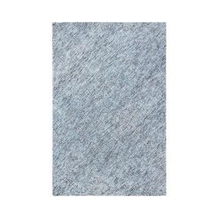 "Colorfields Blue Heather Indigo Tufted Rectangle Rug - 8'6"" x 12'"