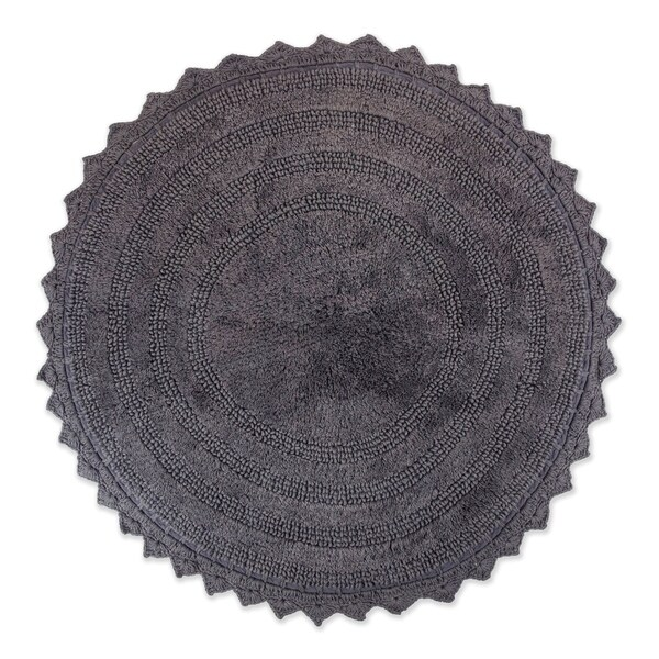 DII Reversible Soft Crochet Bath Mat - 21 x 34