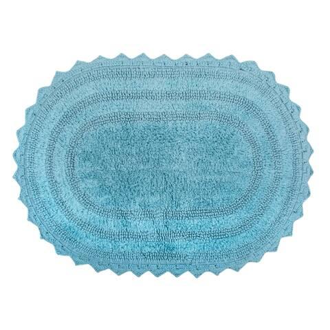 DII Reversible Soft Crochet Bath Mat