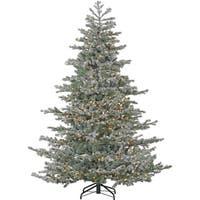 Fraser Hill Farm 9-foot Oregon Fir Artificial Christmas Tree with Smart String Lighting