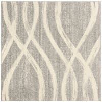 Safavieh Adirondack Vintage Oriental - Grey / Cream Rug - 4' x 4' Square