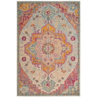 Safavieh Crystal Vintage Oriental - Light Blue / Fuchsia Rug - 12' x 18'
