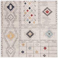 Safavieh Adirondack Vintage Oriental - Light Grey / Aqua Rug - 6' x 6' Square