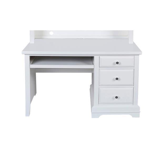 Copper Grove Pontoise White 3 Drawer Youth Student Desk