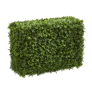 Nearly Natural 30-inch Eucalyptus Artificial Hedge