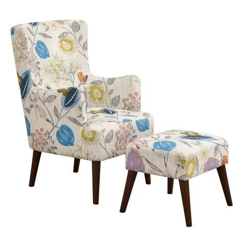 angelo:HOME Jane Chair and Ottoman Set