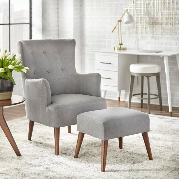 angelo:HOME Jane Chair and Ottoman Set