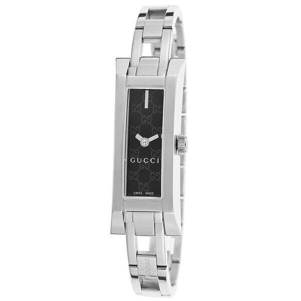dbedaeff52a Shop Gucci YA110526 Women s G link Black Quartz Watch - Free ...