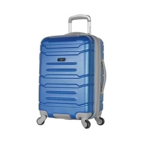 Olympia Denmark 21'' Expandable Carry-On Spinner Navy
