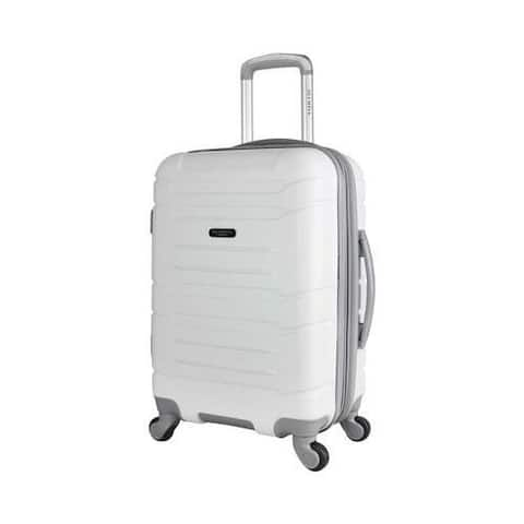Olympia Denmark 21'' Expandable Carry-On Spinner White