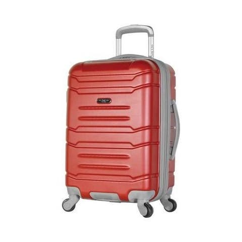 Olympia Denmark 21'' Expandable Carry-On Spinner Wine