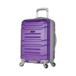 Olympia Denmark 21'' Expandable Carry-On Spinner Purple