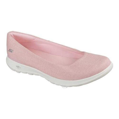 Women's Skechers GOwalk Lite In Bloom Skimmer Pink