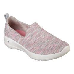 Women's Skechers GOwalk Joy Terrific Walking Shoe Taupe/Coral