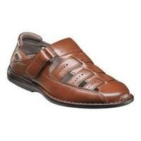 Men's Stacy Adams Bridgeport Fisherman Sandal 25184 Cognac Synthetic