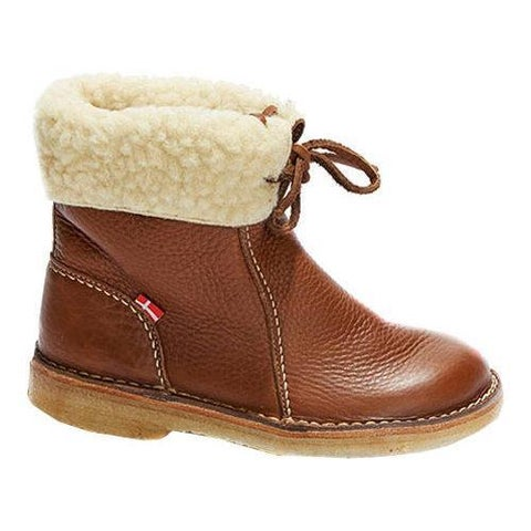Duckfeet Arhus Shearling Lined Boot Granate Leather
